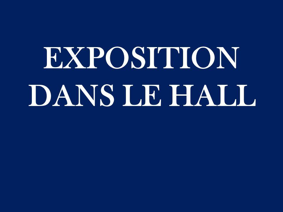 EXPOSITION DANS LE HALL