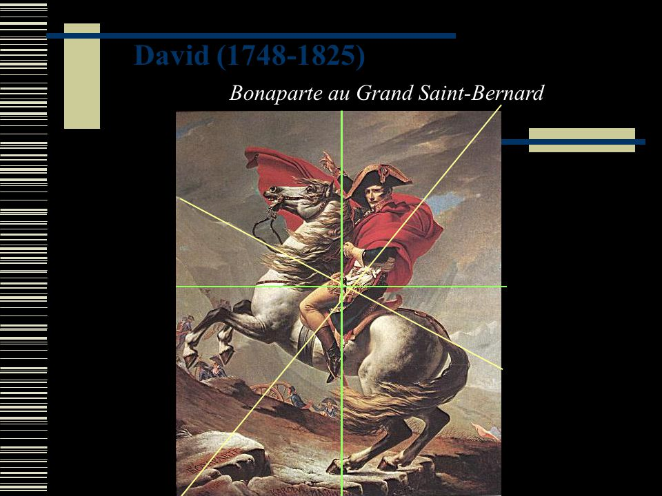 David (1748-1825) Bonaparte au Grand Saint-Bernard