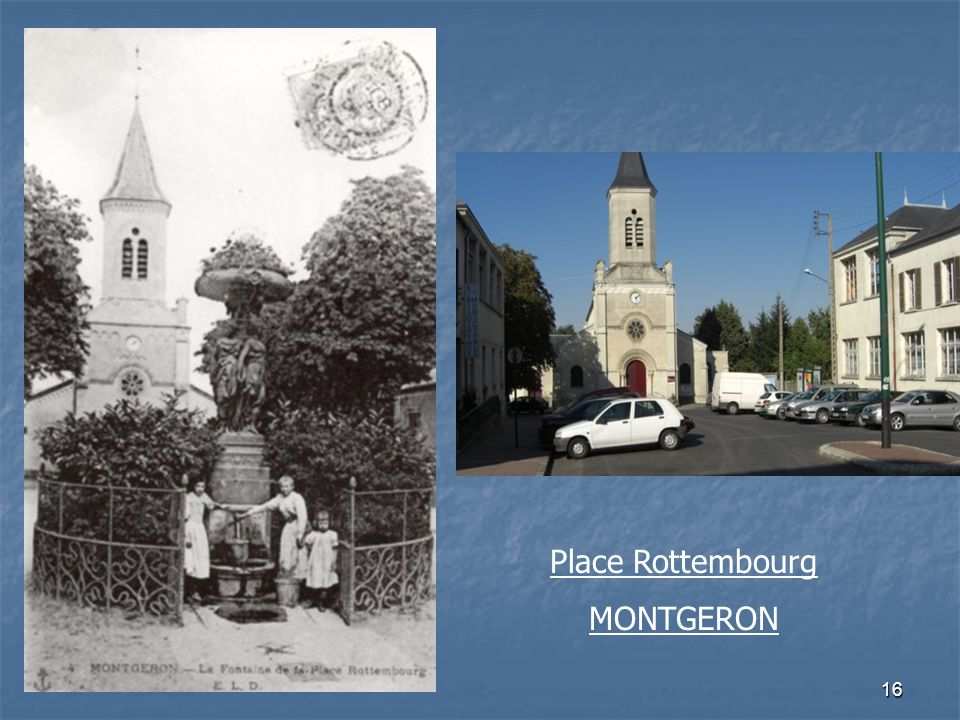Place Rottembourg MONTGERON