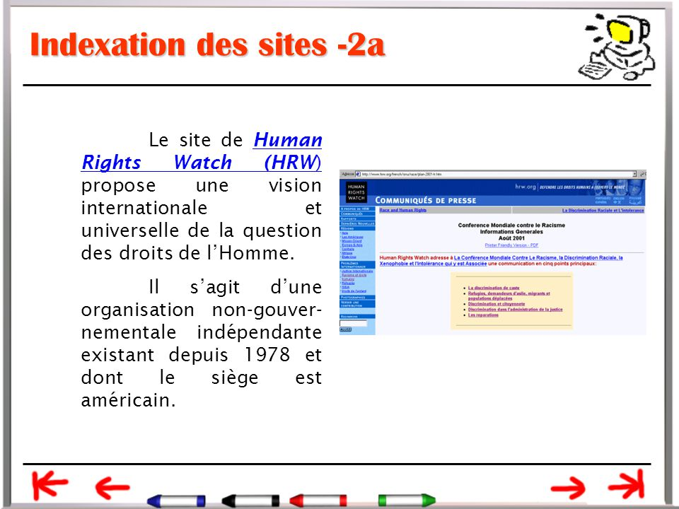 Indexation des sites -2a