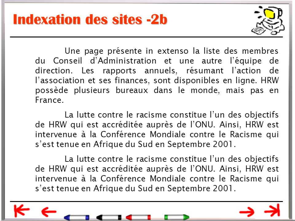 Indexation des sites -2b