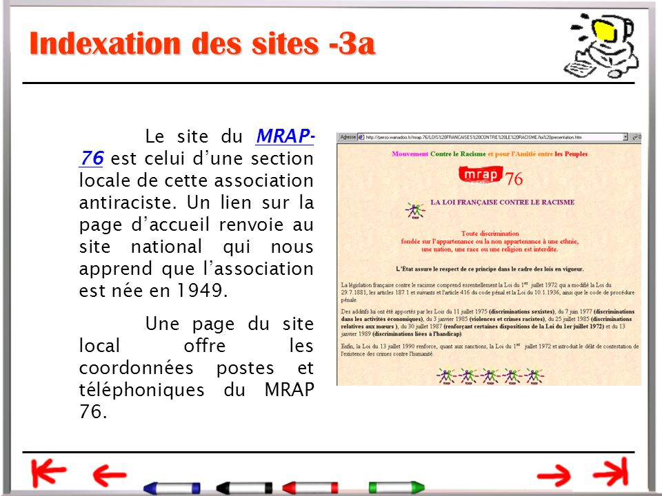 Indexation des sites -3a