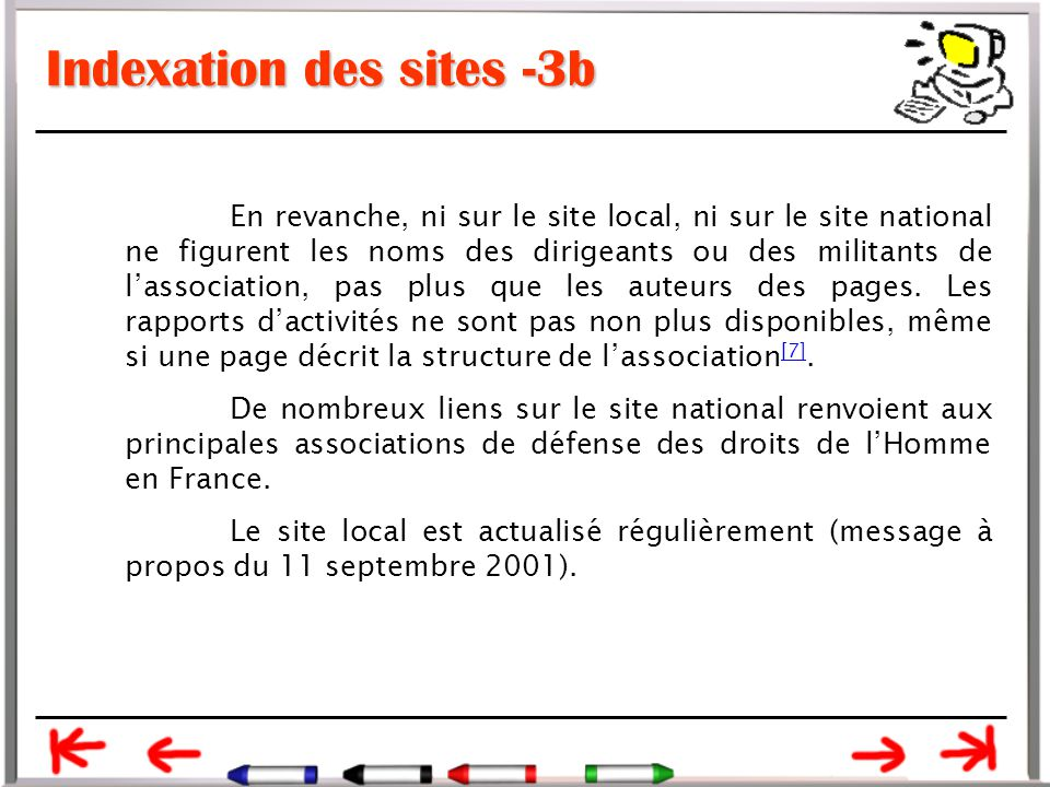 Indexation des sites -3b