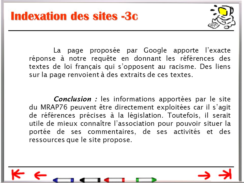 Indexation des sites -3c