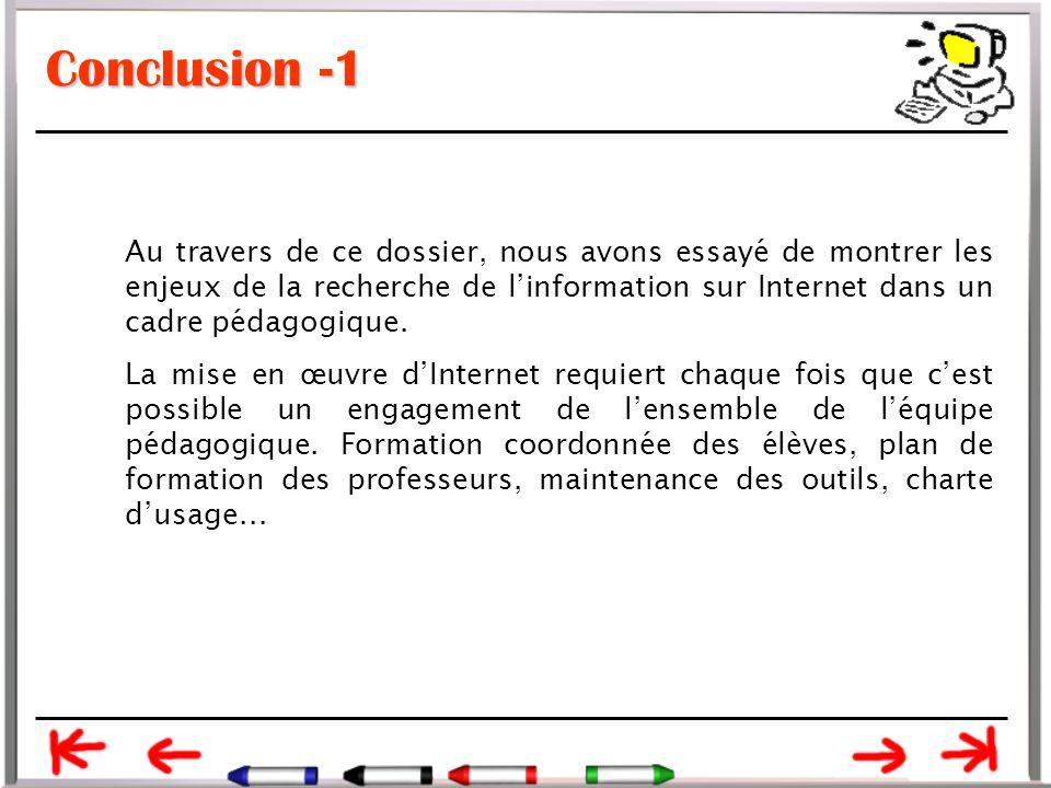 Conclusion -1