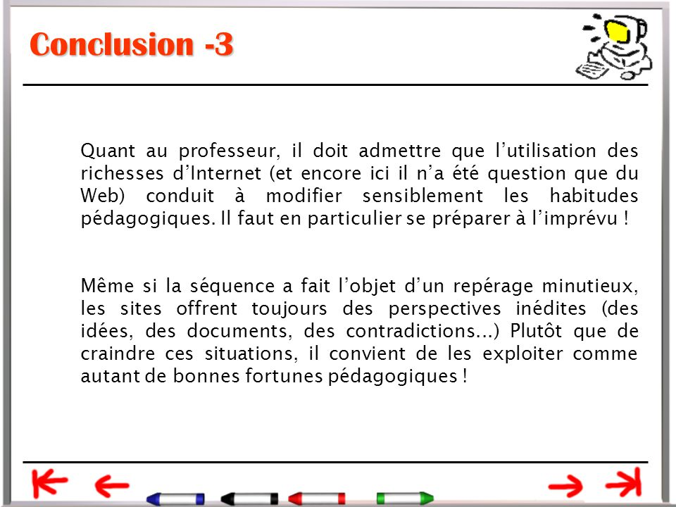 Conclusion -3