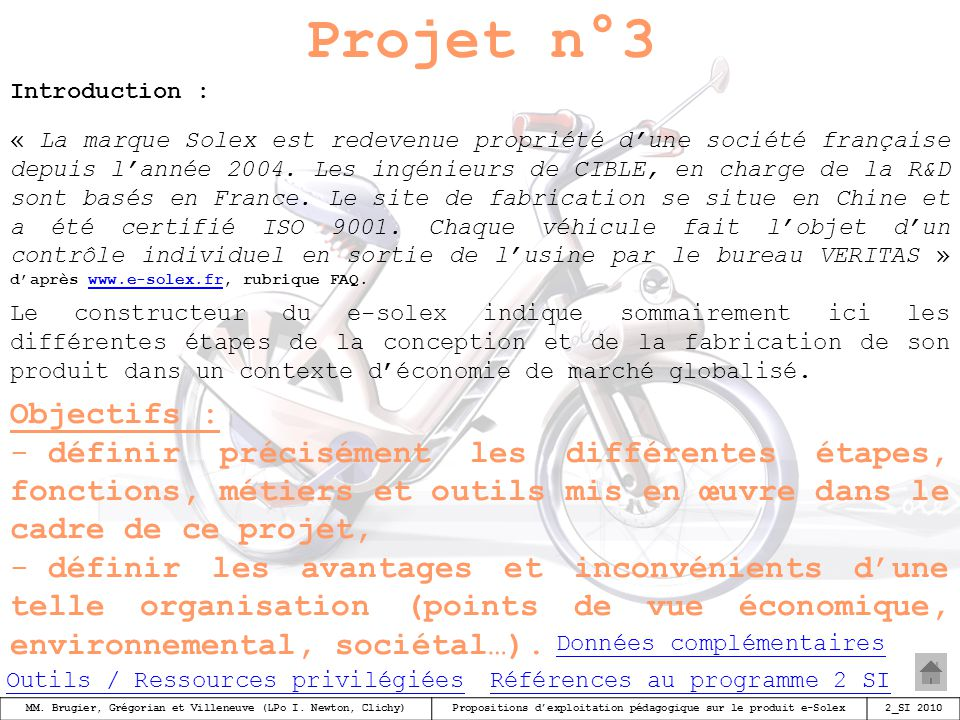 Projet n°3 Introduction :