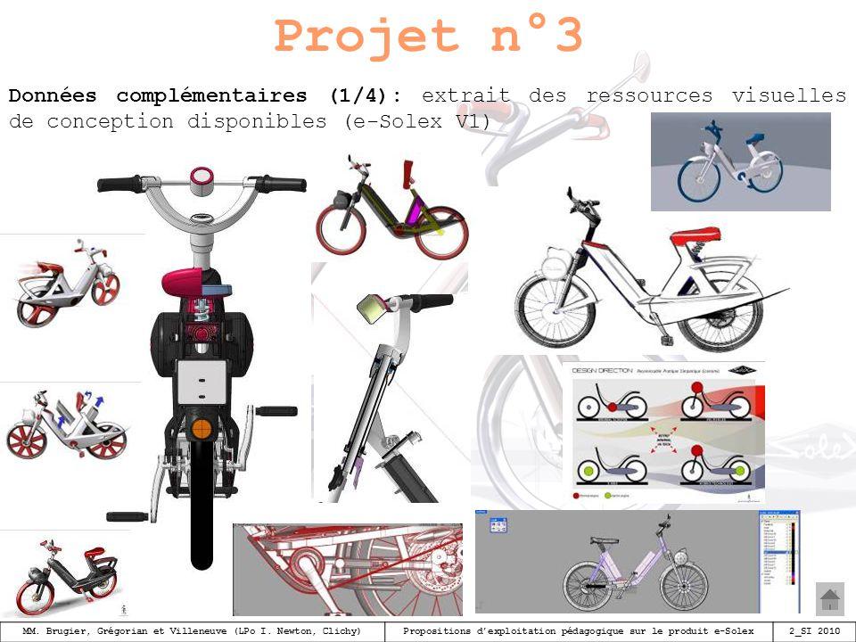 Projet n°3 Données complémentaires (1/4): extrait des ressources visuelles de conception disponibles (e-Solex V1)