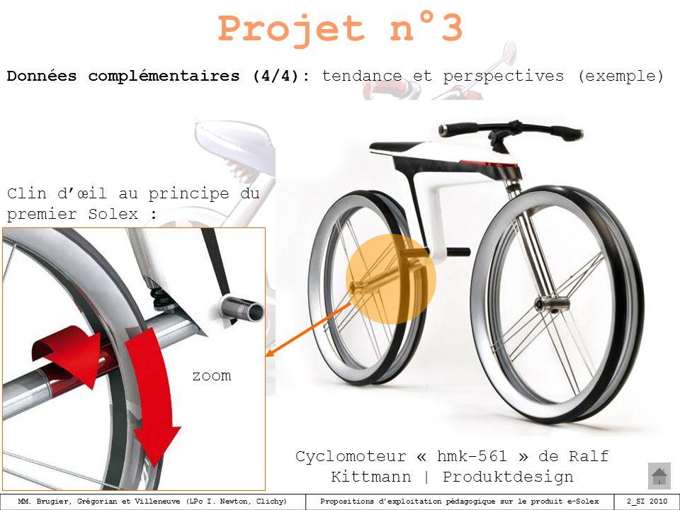 Cyclomoteur « hmk-561 » de Ralf Kittmann | Produktdesign