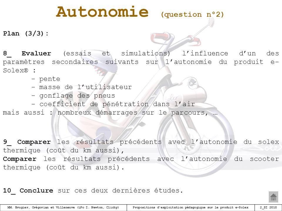 Autonomie (question n°2)
