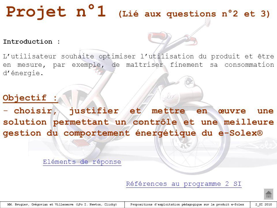 Projet n°1 (Lié aux questions n°2 et 3)