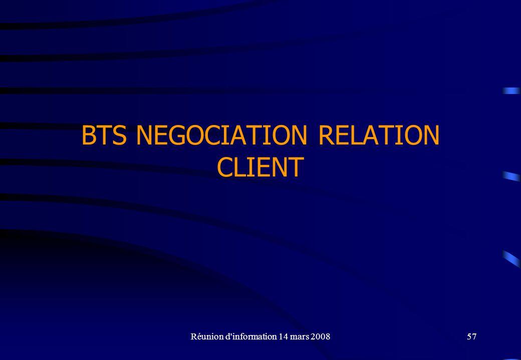 BTS NEGOCIATION RELATION CLIENT
