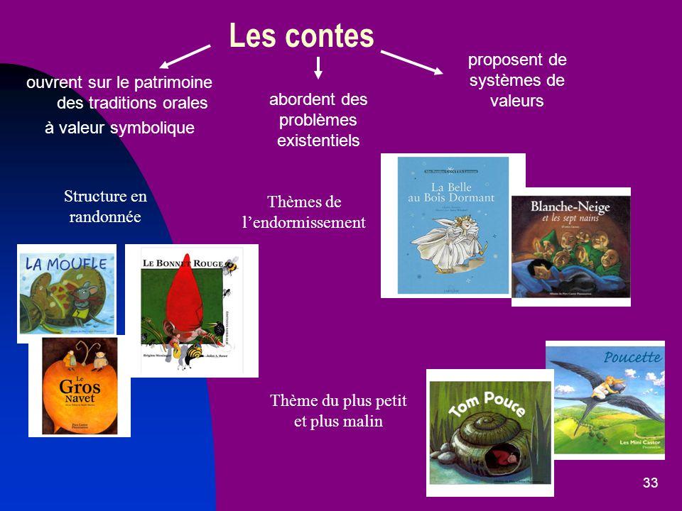 Les contes proposent de systèmes de valeurs