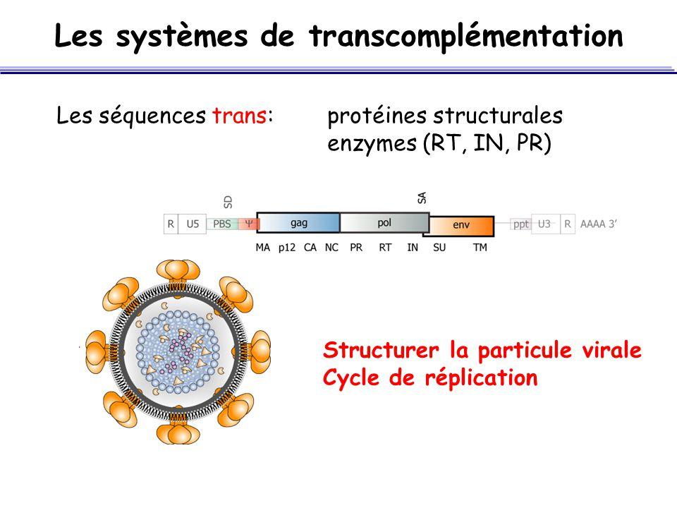 Les systèmes de transcomplémentation