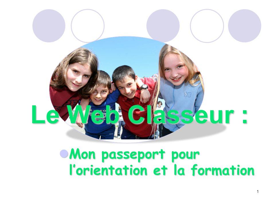 Mon passeport pour l'orientation et la formation