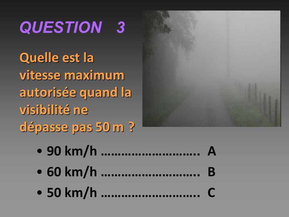 QUESTION 3 90 km/h ……………………….. A 60 km/h ……………………….. B
