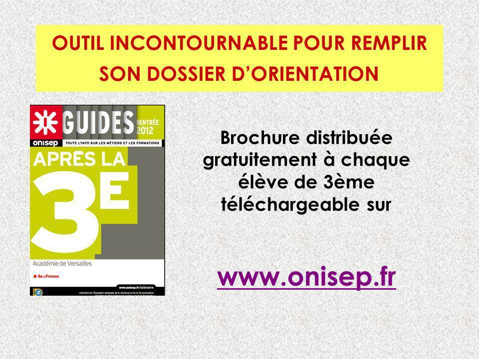 OUTIL INCONTOURNABLE POUR REMPLIR SON DOSSIER D'ORIENTATION