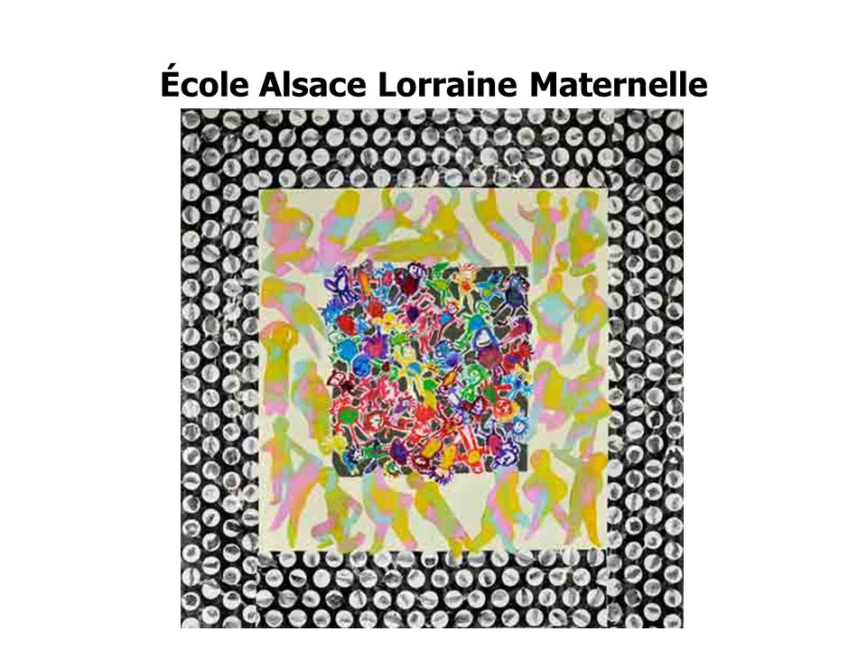 École Alsace Lorraine Maternelle
