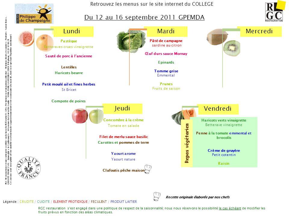 Du 12 au 16 septembre 2011 GPEMDA Repas végétarien Pastèque