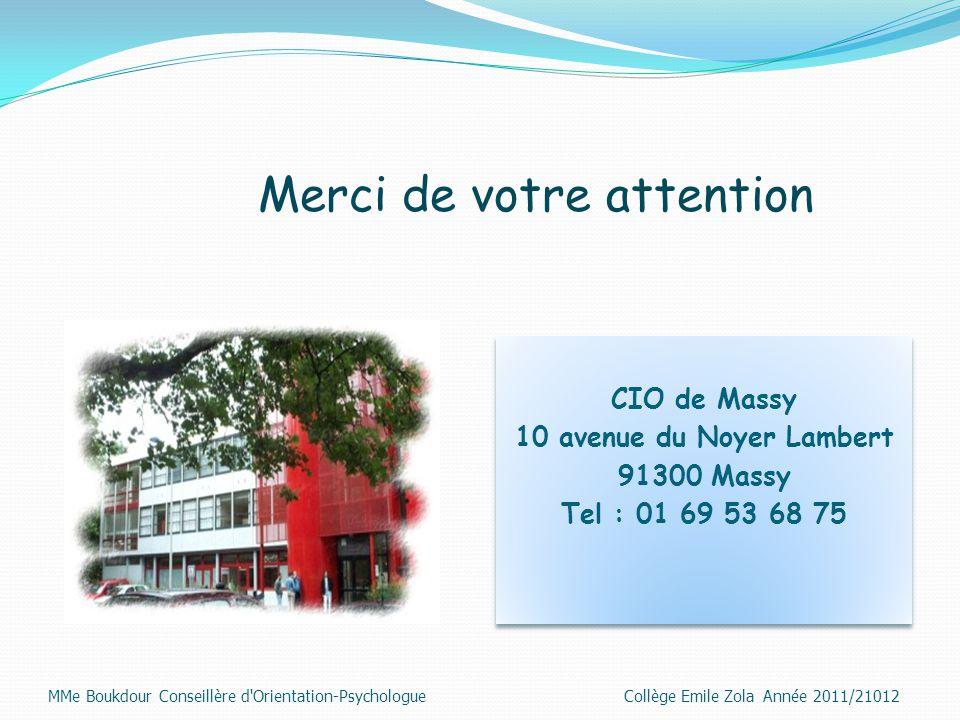 10 avenue du Noyer Lambert