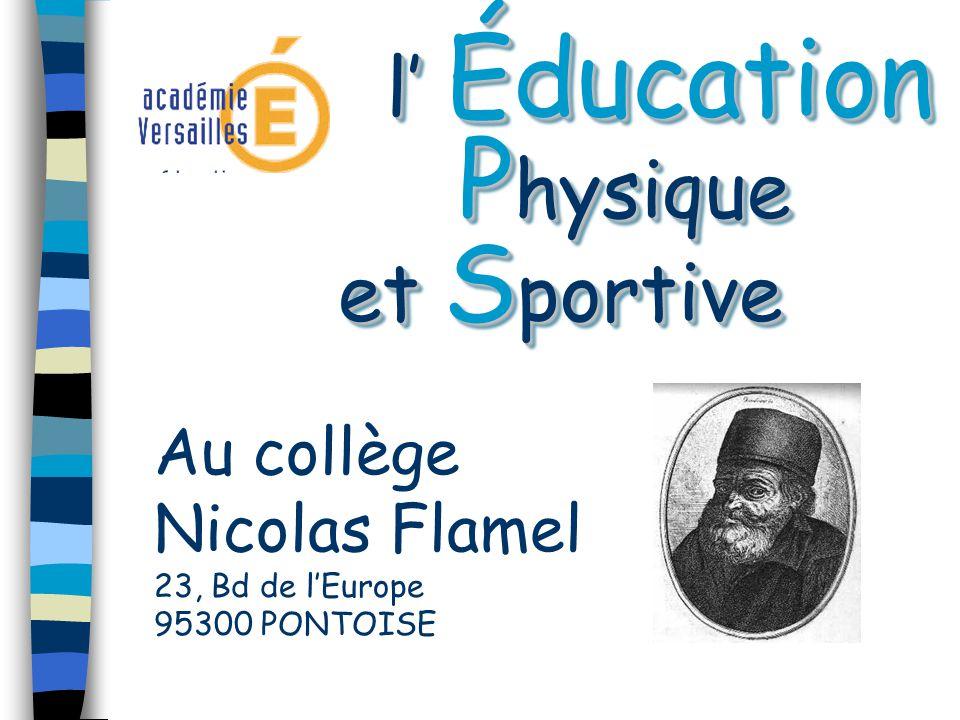 l' Éducation Physique et Sportive