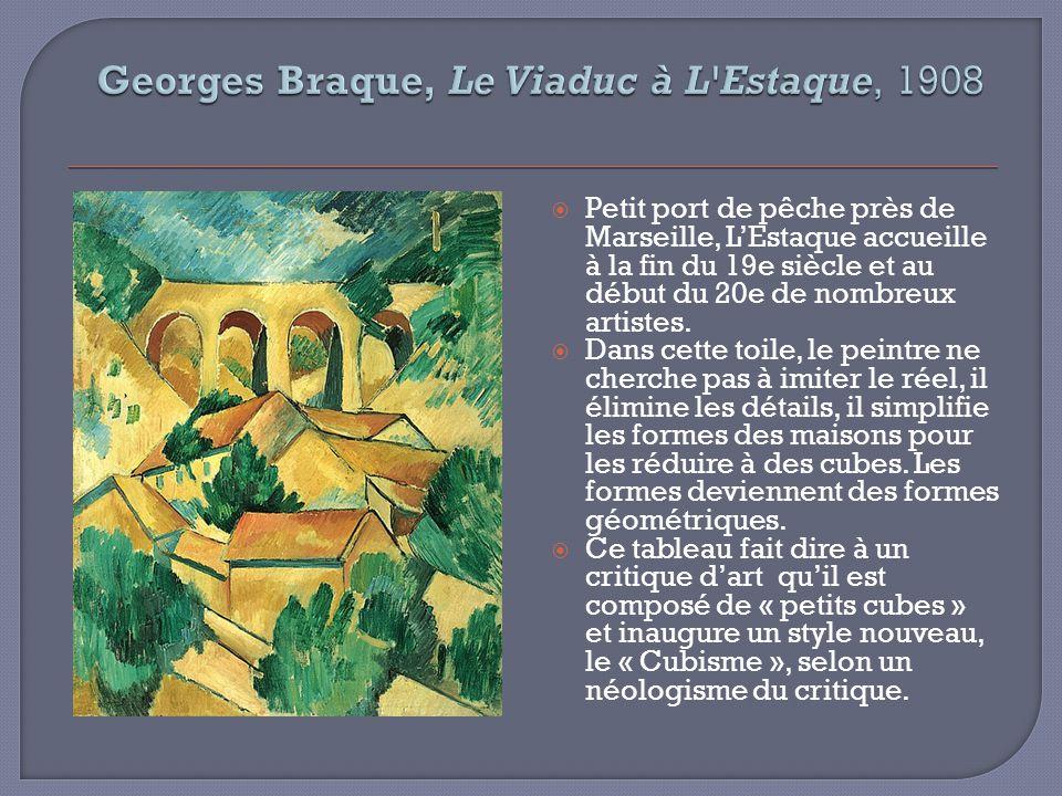 Georges Braque, Le Viaduc à L Estaque, 1908