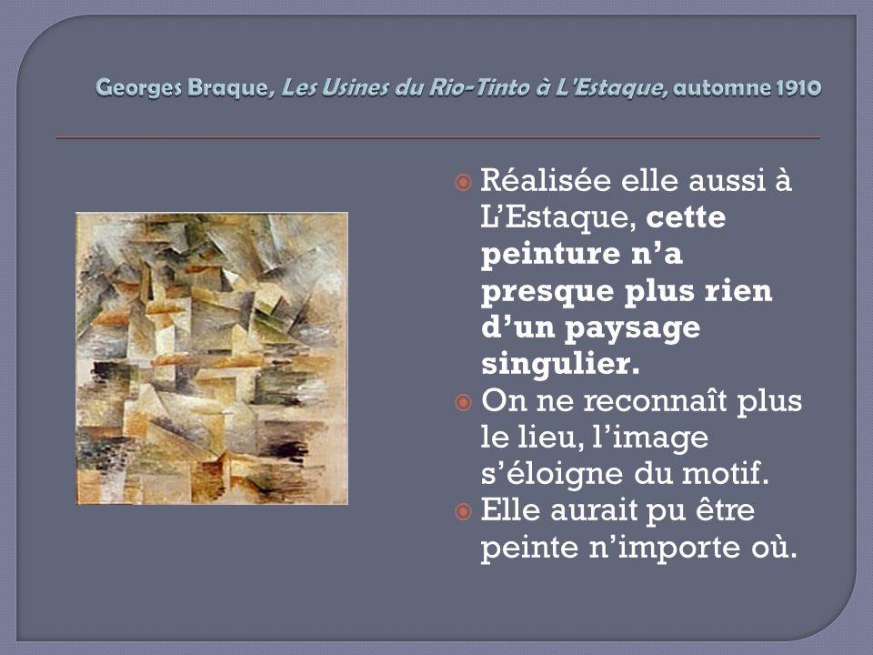 Georges Braque, Les Usines du Rio-Tinto à L Estaque, automne 1910