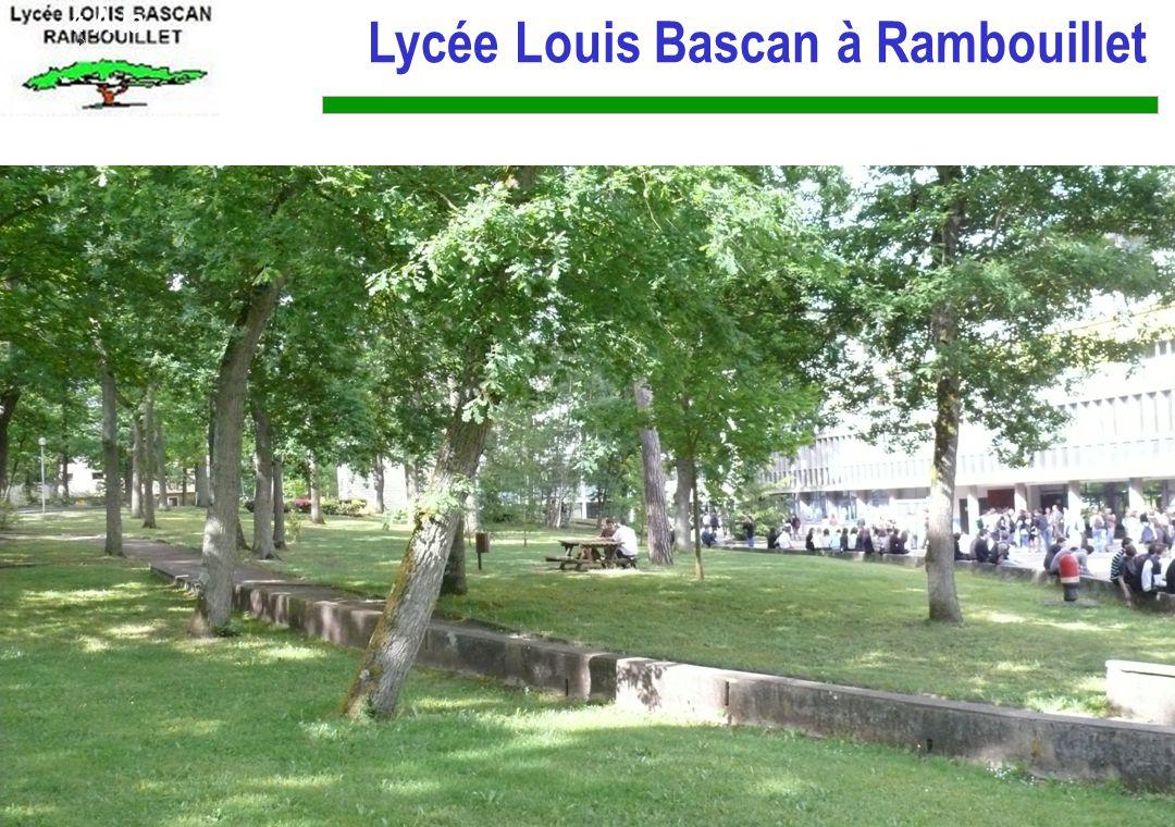 Lycée Louis Bascan à Rambouillet
