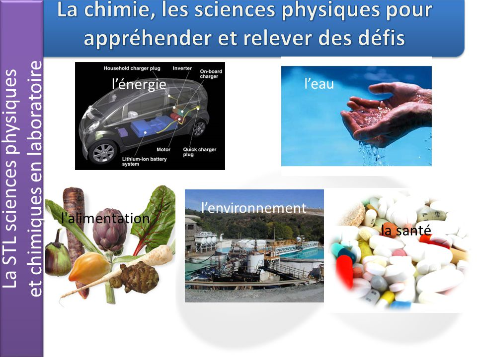 La STL sciences physiques