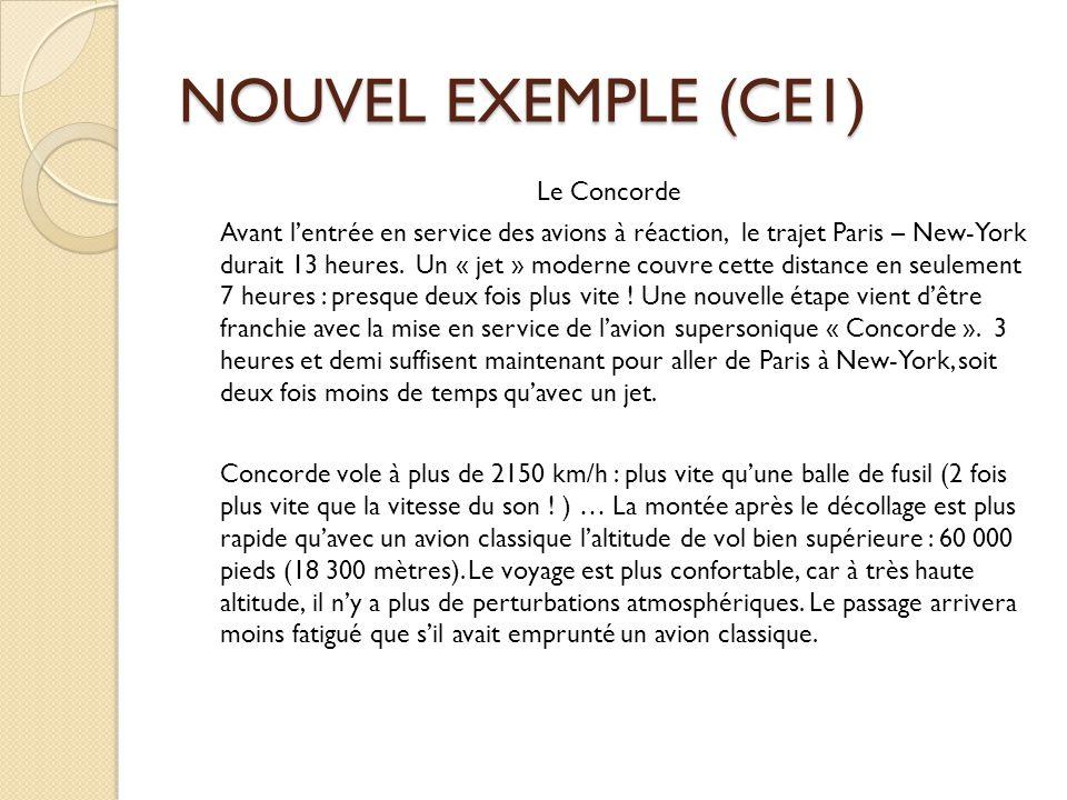 NOUVEL EXEMPLE (CE1)