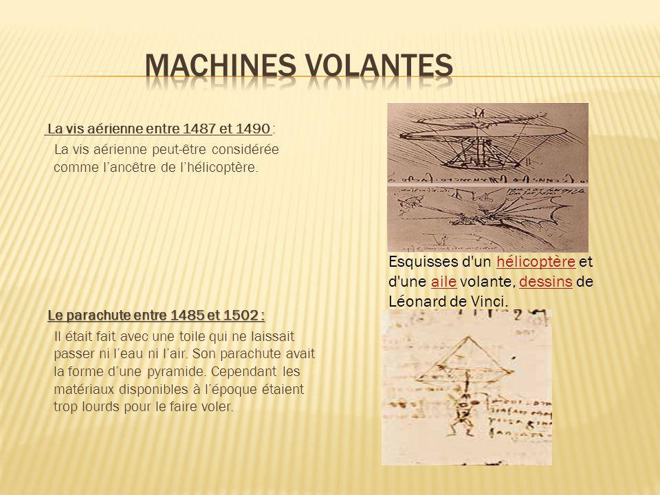 Machines volantes