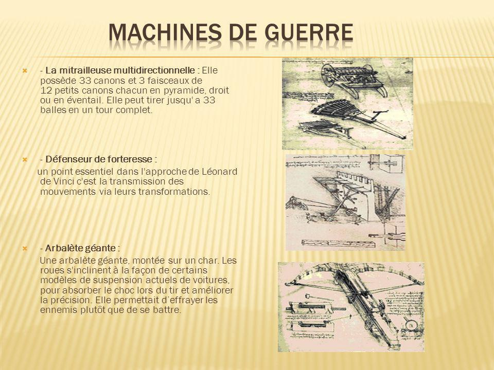 MACHINES DE GUERRE