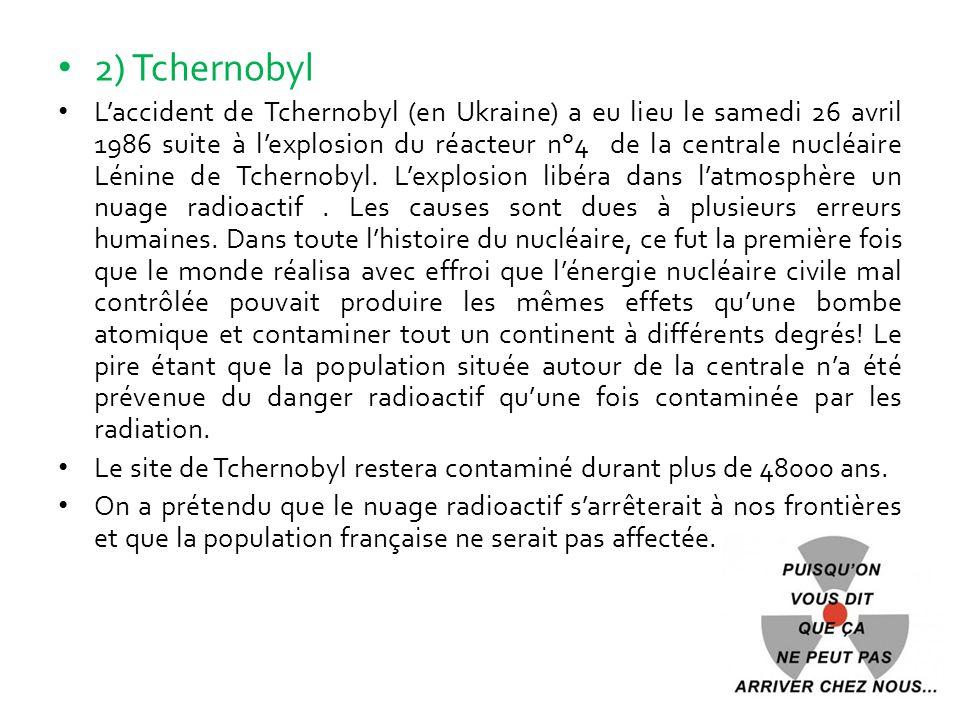 2) Tchernobyl