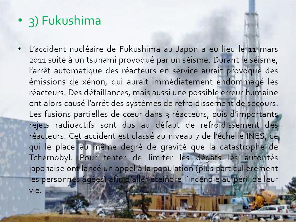 3) Fukushima