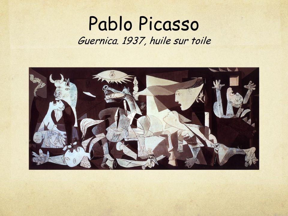 Pablo Picasso Guernica. 1937, huile sur toile