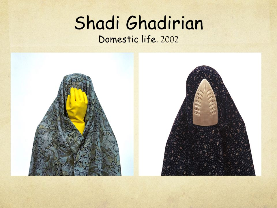 Shadi Ghadirian Domestic life. 2002
