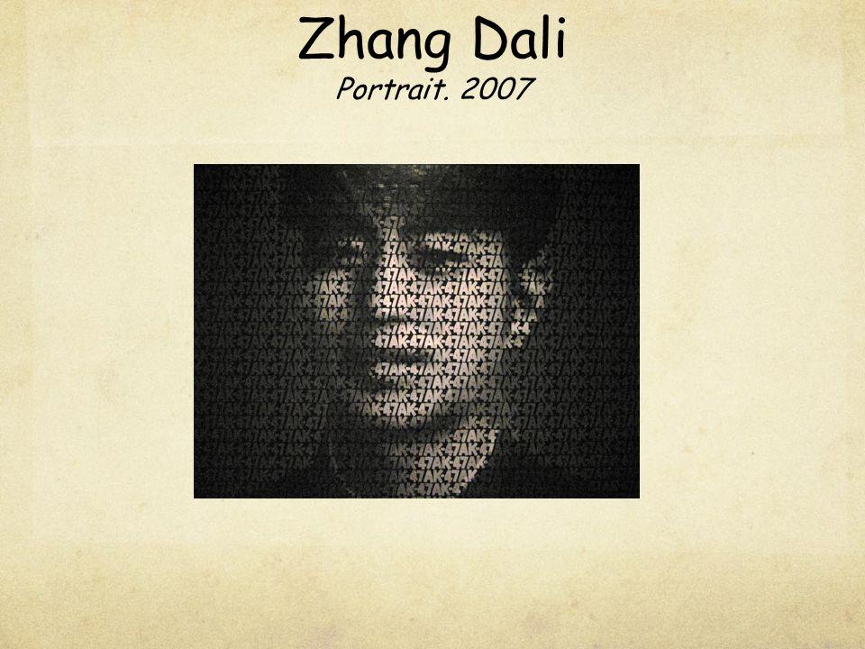 Zhang Dali Portrait. 2007