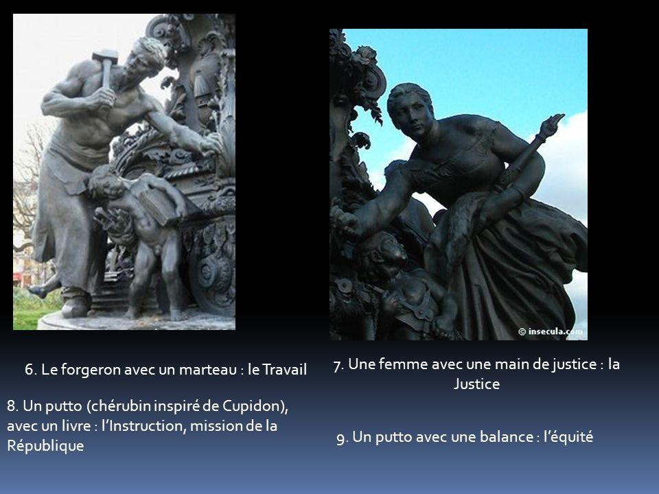 7. Une femme avec une main de justice : la Justice