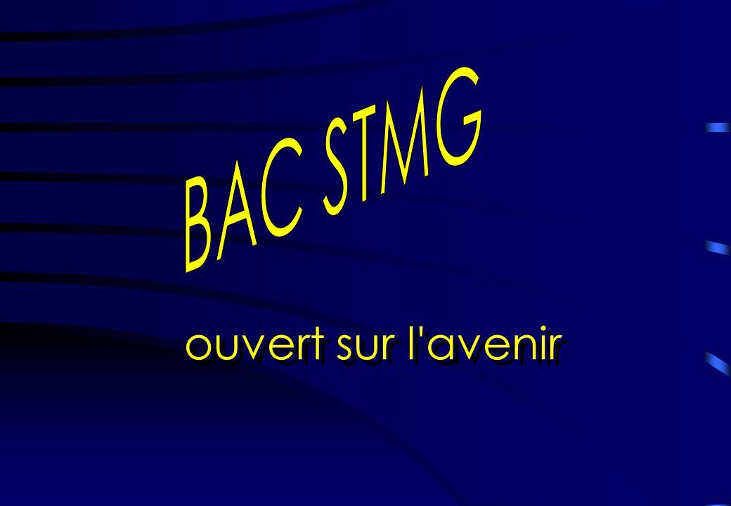 ouvert sur l avenir BAC STMG