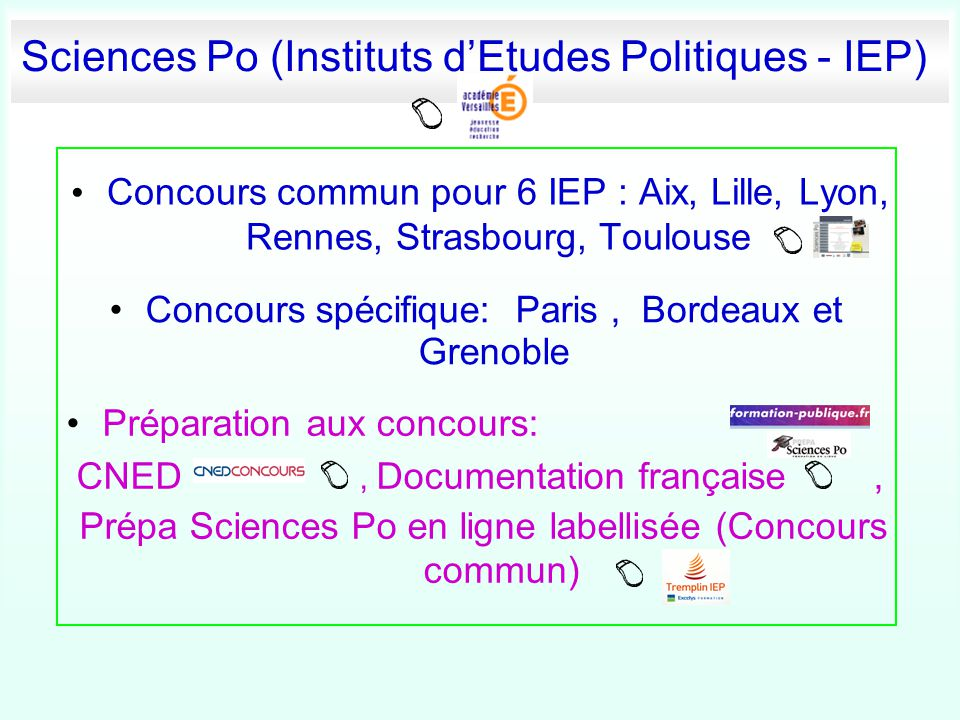 Sciences Po (Instituts d'Etudes Politiques - IEP)