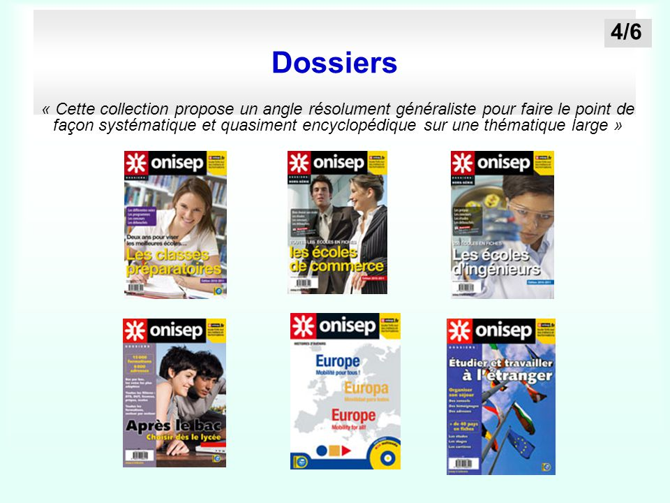 Dossiers 4/6.