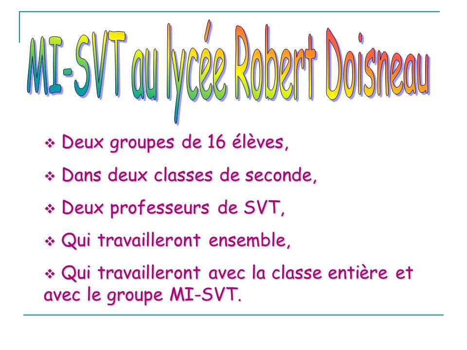 MI-SVT au lycée Robert Doisneau