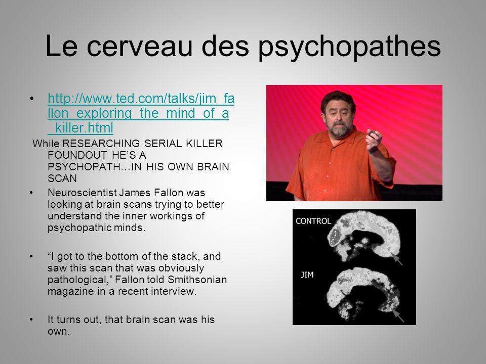 Le cerveau des psychopathes