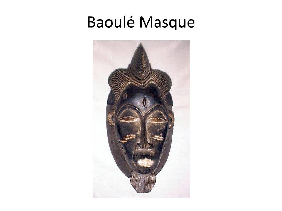 Baoulé Masque