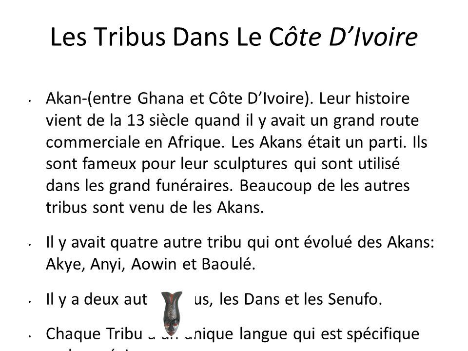 Les Tribus Dans Le Côte D'Ivoire