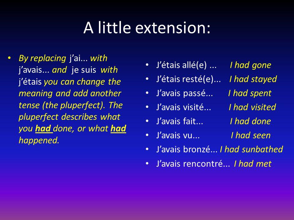 A little extension: