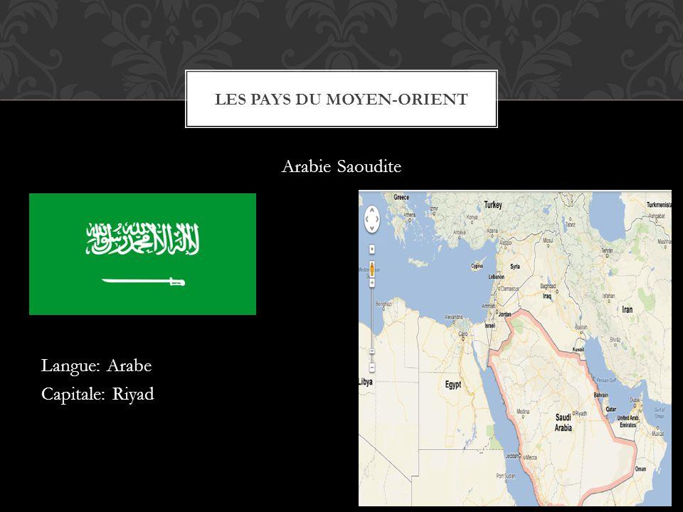 Les pays du Moyen-Orient