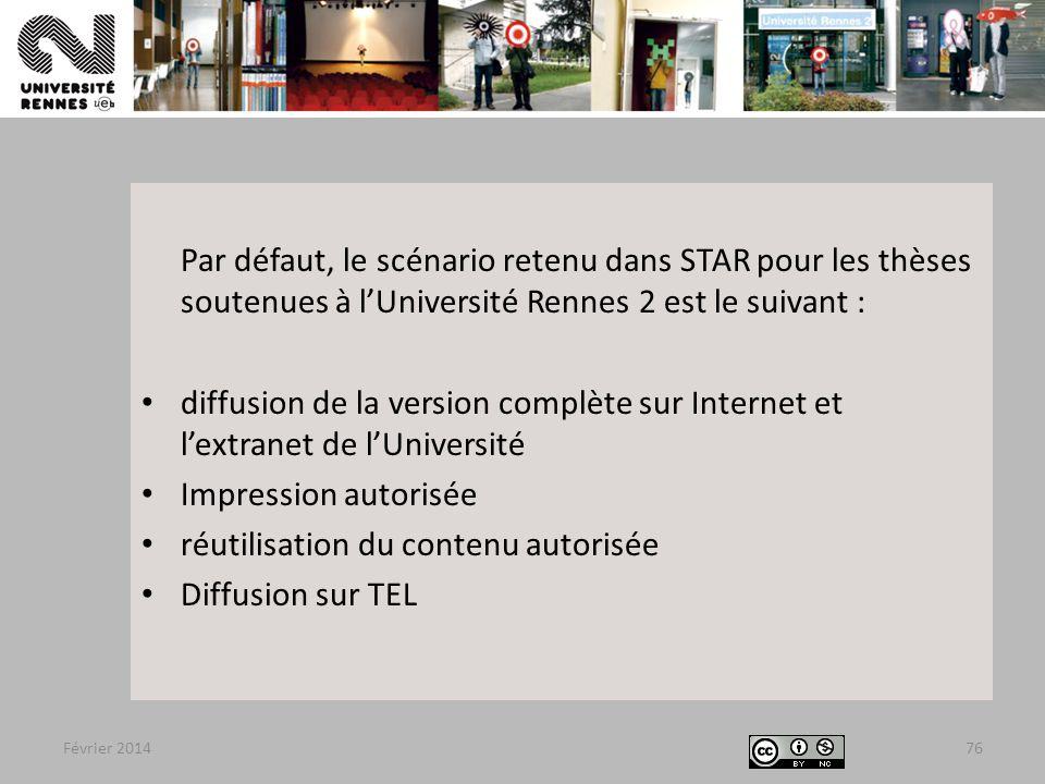 réutilisation du contenu autorisée Diffusion sur TEL
