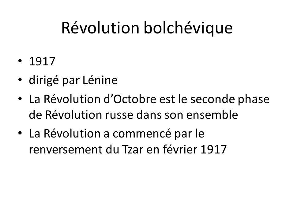 Révolution bolchévique