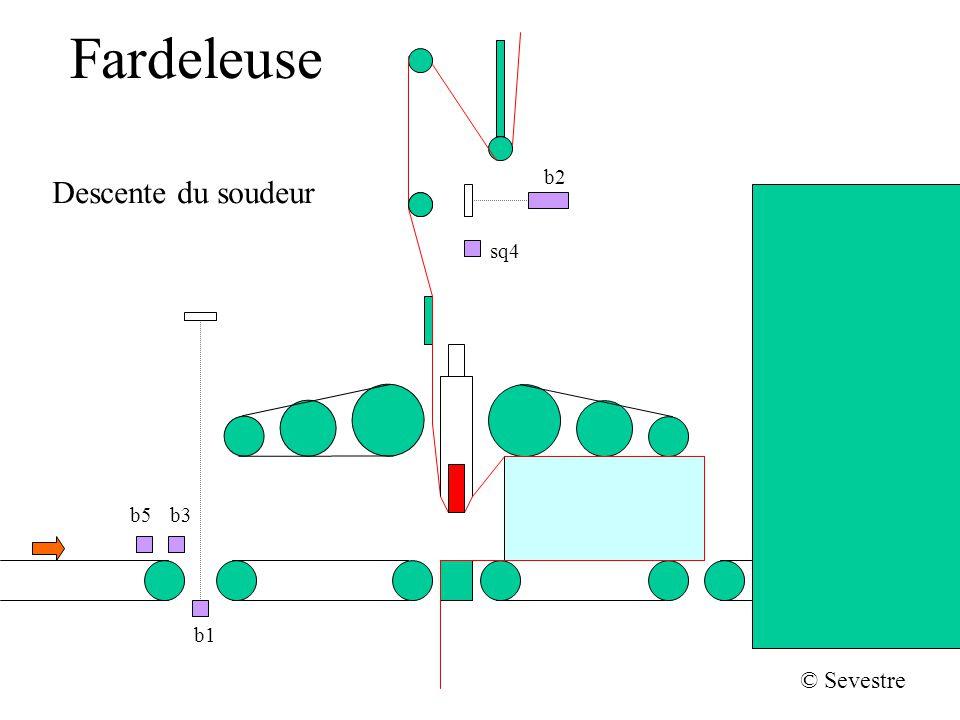 Fardeleuse b2 Descente du soudeur sq4 b5 b3 b1 © Sevestre